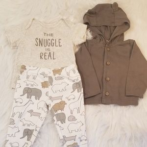 Carters The Snuggle Is Real Outfit